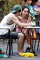 Penn-rome penn badgley zoe kravitz kisses in rome 26