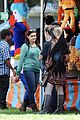 Ariel-nolan ariel winter nolan gould mf fair filming 05