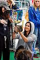 Awinter-furry ariel winter makes a furry friend at the farmers market 25