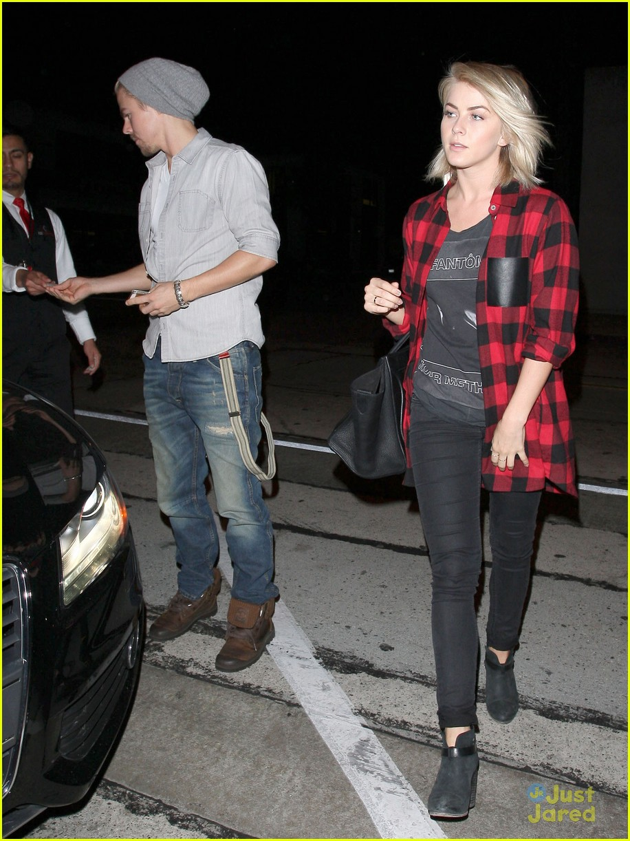 julianne derek hough craigs dinner duo 08
