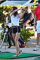 Kendall-golf kendall kylie jenner step out after parents separate 29