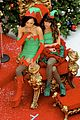 Glee-elves lea chris naya glee christmas scenes 17