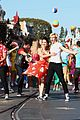 Tbm-parade ross lynch maia mitchell teen beach movie disney christmas parade 05