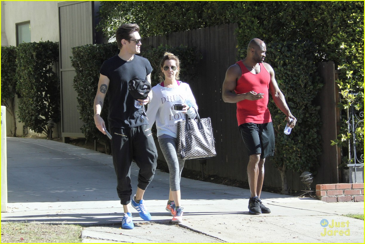 ashley tisdale christopher french mid week workout 09
