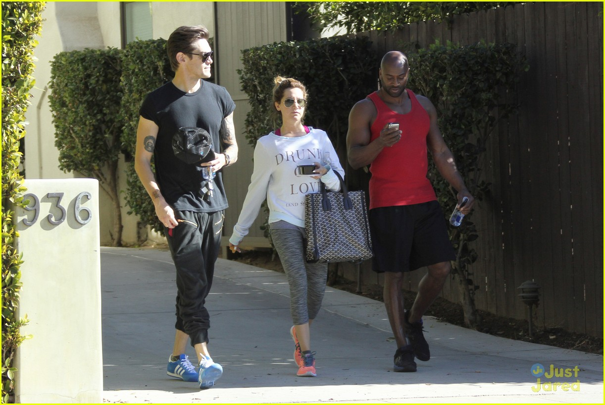 ashley tisdale christopher french mid week workout 17