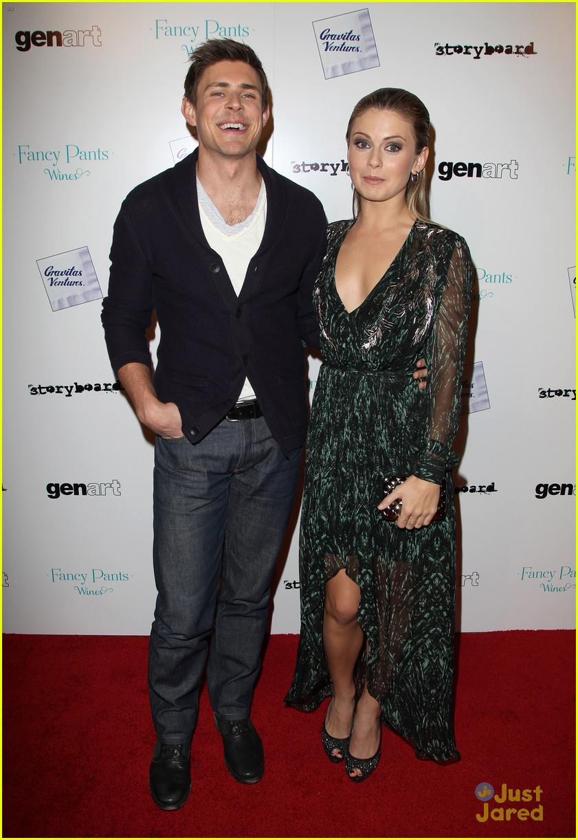 rose mciver chris lowell brightest star la premiere 04