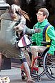 Kevin-chair kevin mchale wheelchair crash glee scenes 09