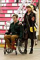 Lea-kevin lea michele kevin mchale glee grand central 15