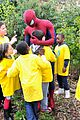 Garfield-kidscity andrew garfield kids city visit before premiere 11