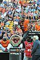 Derulo-soccer jason derulo jumps around at the australian football a league grand final05
