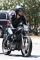 Jonas-motorcycle joe jonas revs up his engine for a motorcycle ride in la05