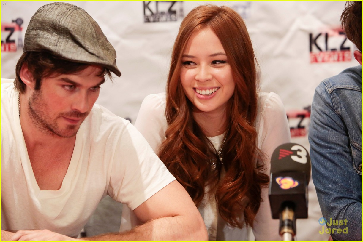 BloodyNightCon Press Conference - Ian Somerhalder, Malese ...