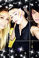 Miley-tish miley cyrus mom tish birthday colorful facepaint 03