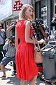 Swift-red taylor swift red dress meredith met gown 08