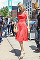 Swift-red taylor swift red dress meredith met gown 11