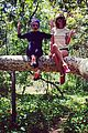 Taylor-trees taylor swift climbs trees with kelly osbourne 03