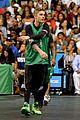 Justin-basket justin bieber chris brown bet celeb basketball game 13