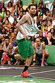 Justin-basket justin bieber chris brown bet celeb basketball game 14