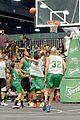 Justin-basket justin bieber chris brown bet celeb basketball game 39
