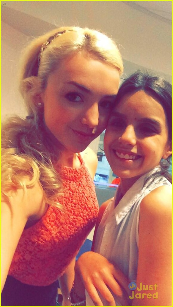 peyton list spends time children seacrest studios 02