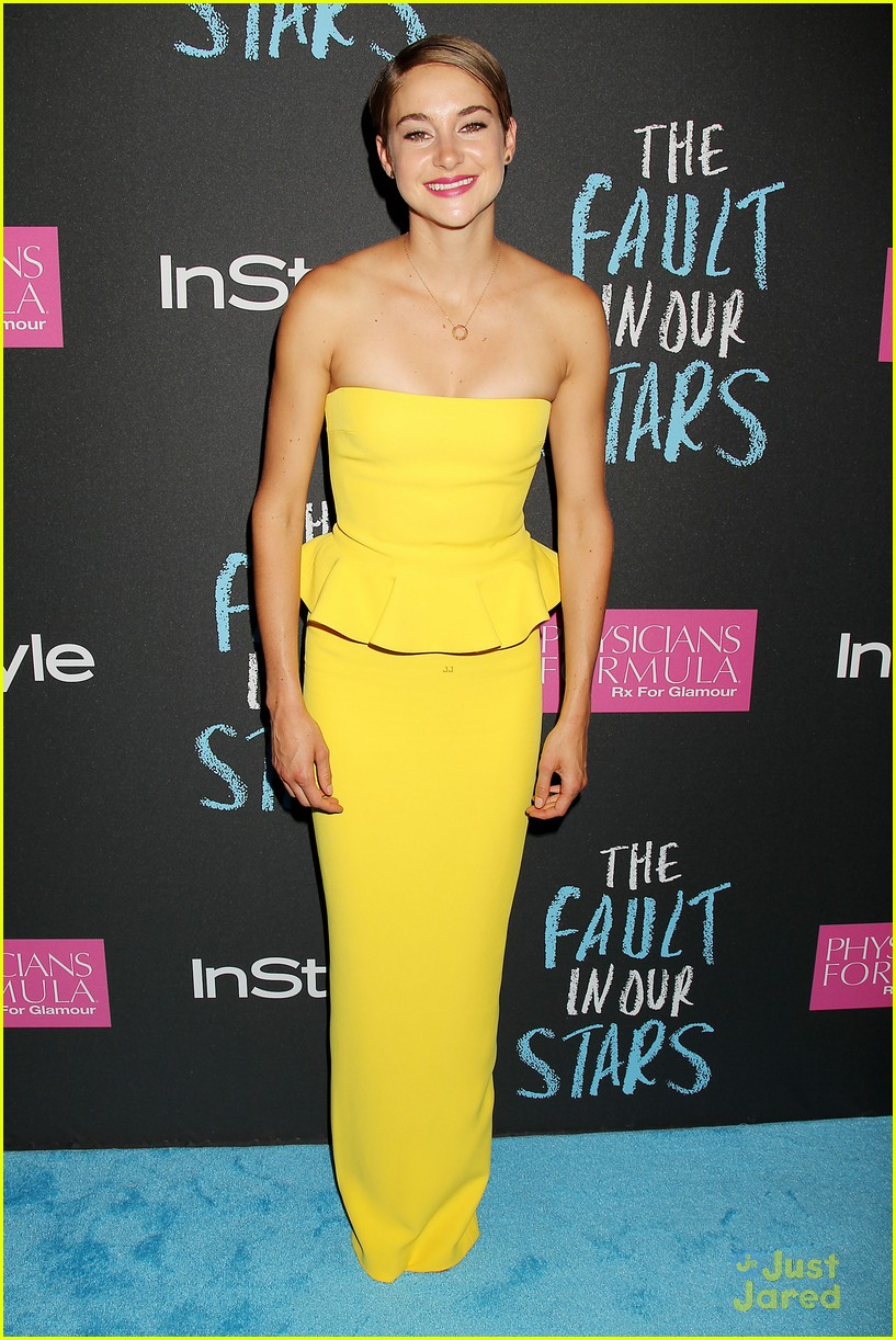 Shailene Woodley Shines Bright at 'The Fault in Our Stars ...