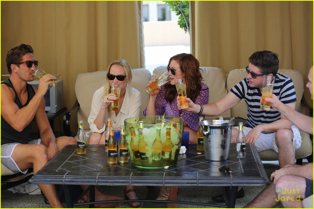 anna camp glamping brittany snow vegas 11