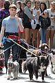 Dan-dog daniel radcliffe dog walker trainwreck nyc set 12
