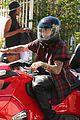 Bieber-spyder justin bieber ditches facial hair rides spyder 09