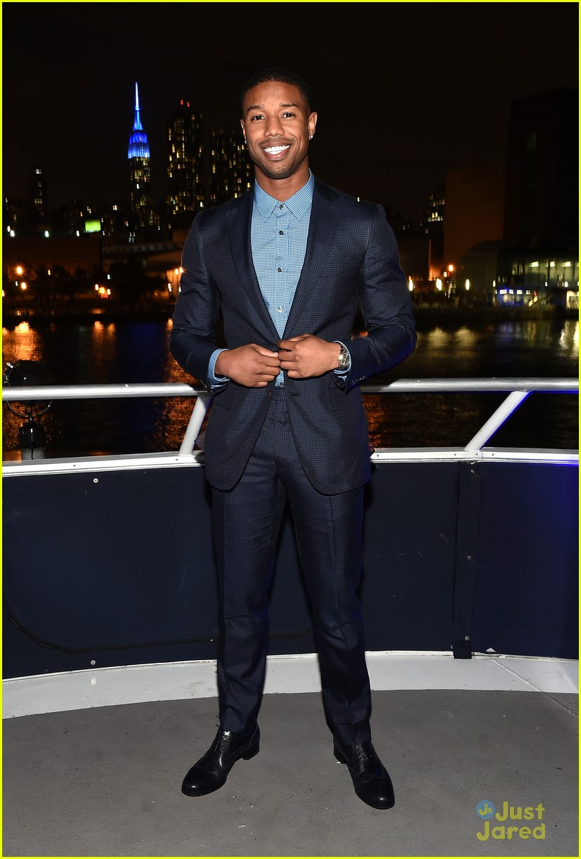 Michael b jordan looks back on wallace 39 s death on 39 the for Michael b jewelry death