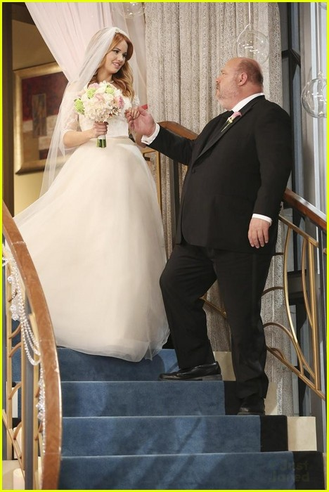 debby ryan kevin chamberlin jessie wedding stills 01