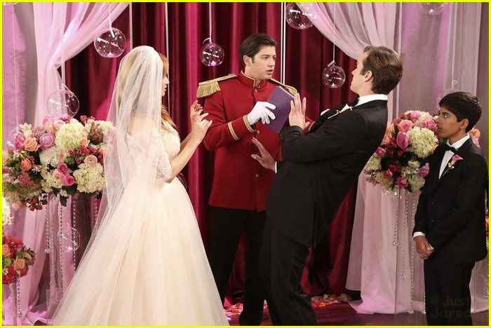 debby ryan kevin chamberlin jessie wedding stills 12