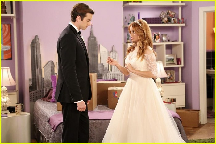 debby ryan kevin chamberlin jessie wedding stills 15