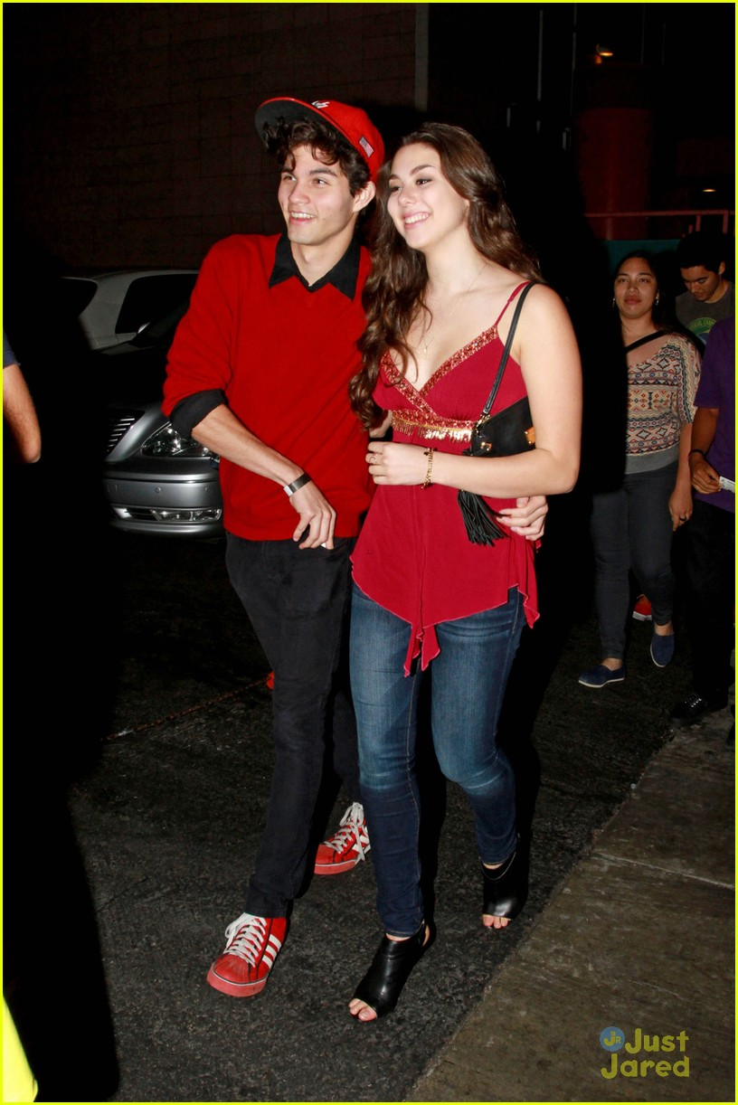 Kira Kosarin with cool, Boyfriend Chase Austin