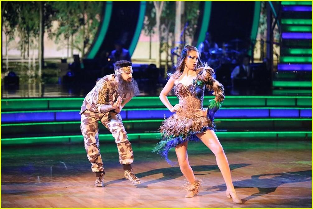 Sadie Robertson &amp- Mark Ballas Samba into '-Duck Dynasty'- - See the ...