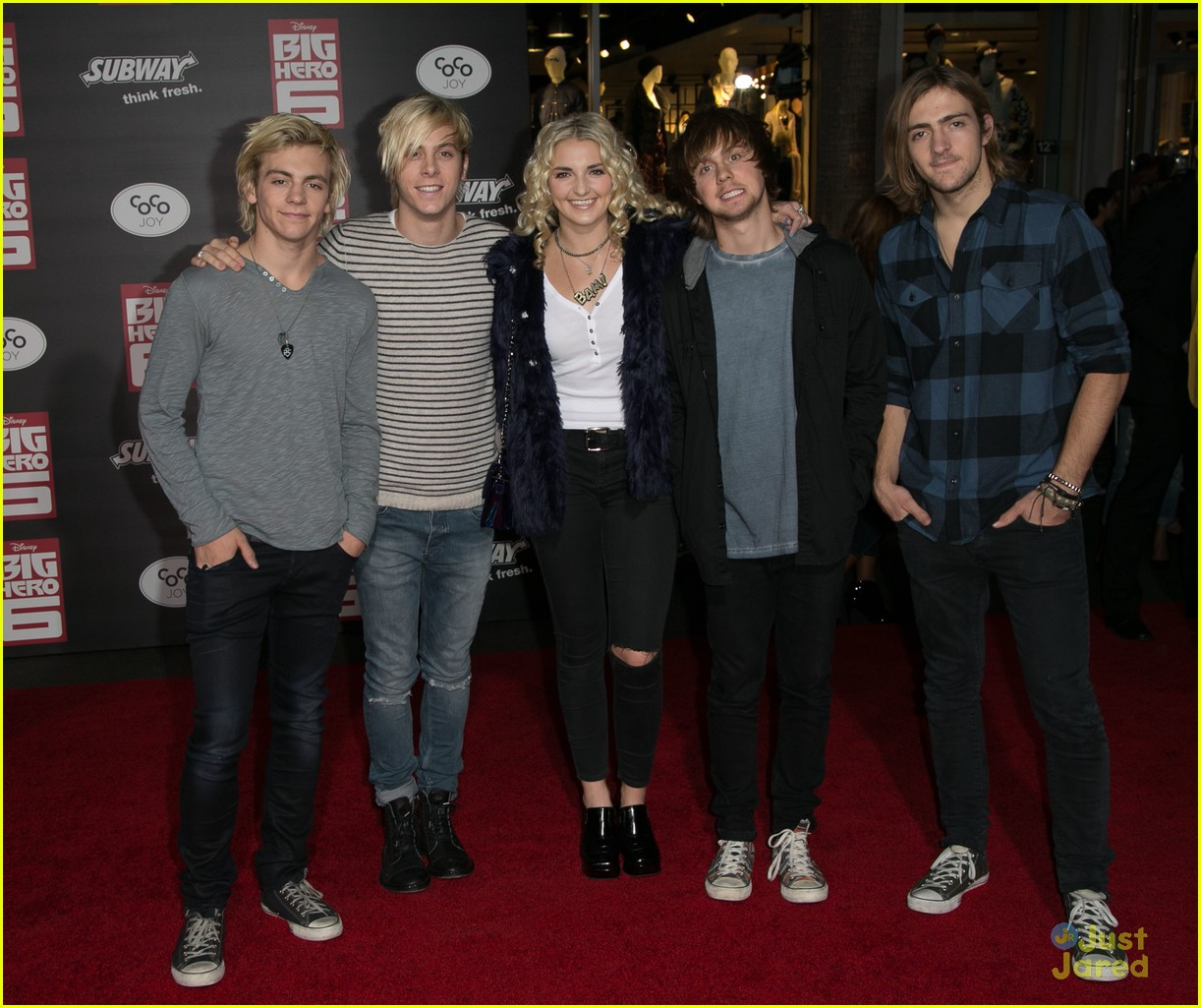 ross lynch new film big hero 6 premiere 05