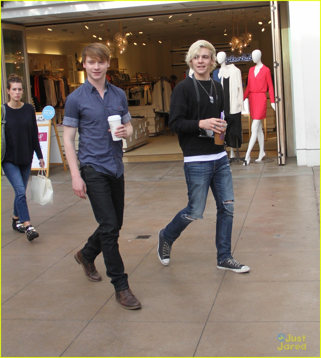 austin ally cast hang out at the grove 13