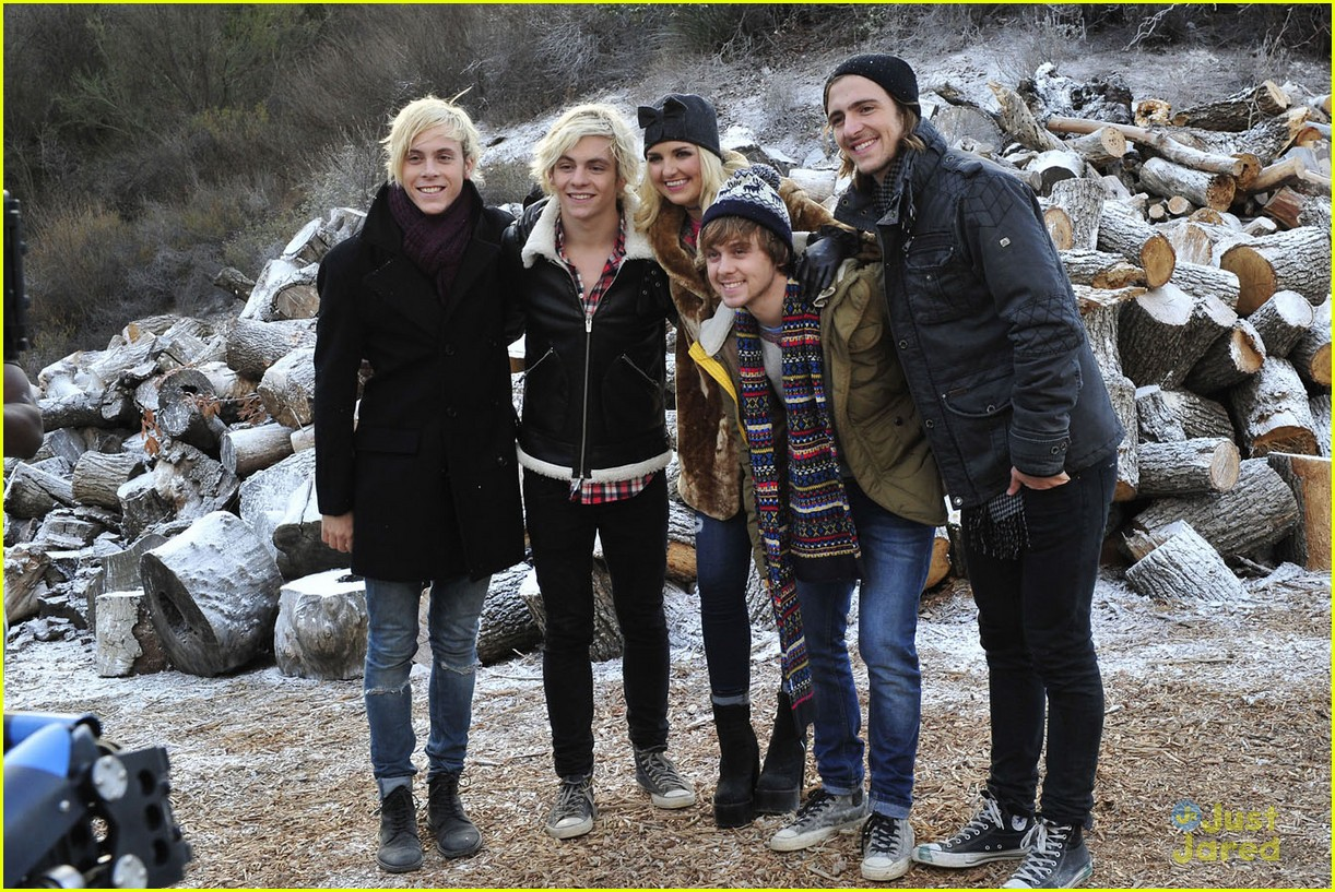 r5 smile music video photos ross lynch wet 06
