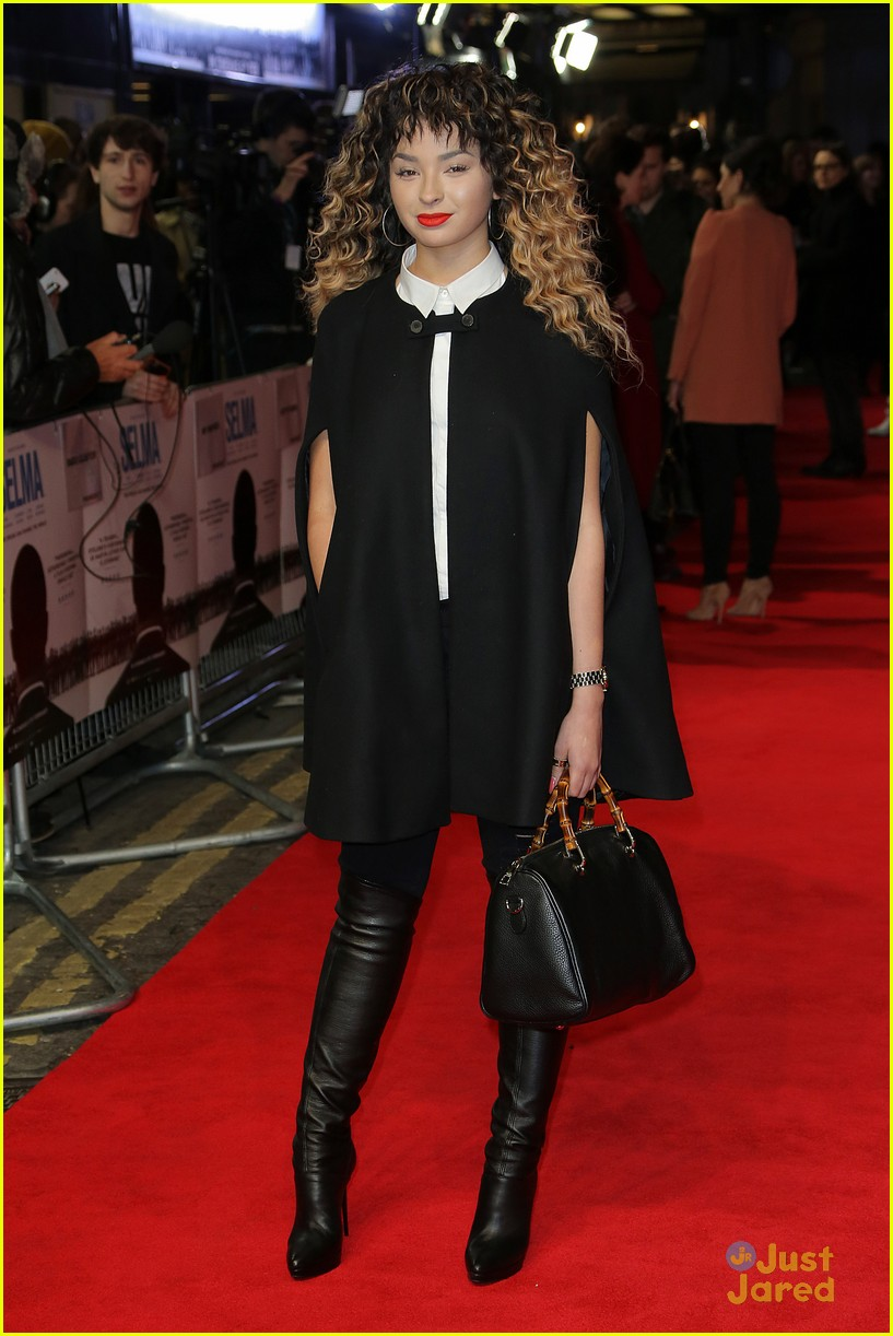About This Photo Set: Ella Eyre walks the red carpet at the premiere ...