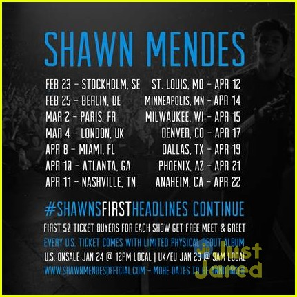 Symetra Tour Dates