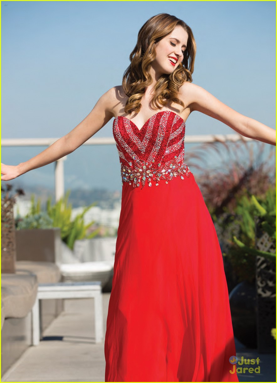 laura marano justine mag prom looks 05