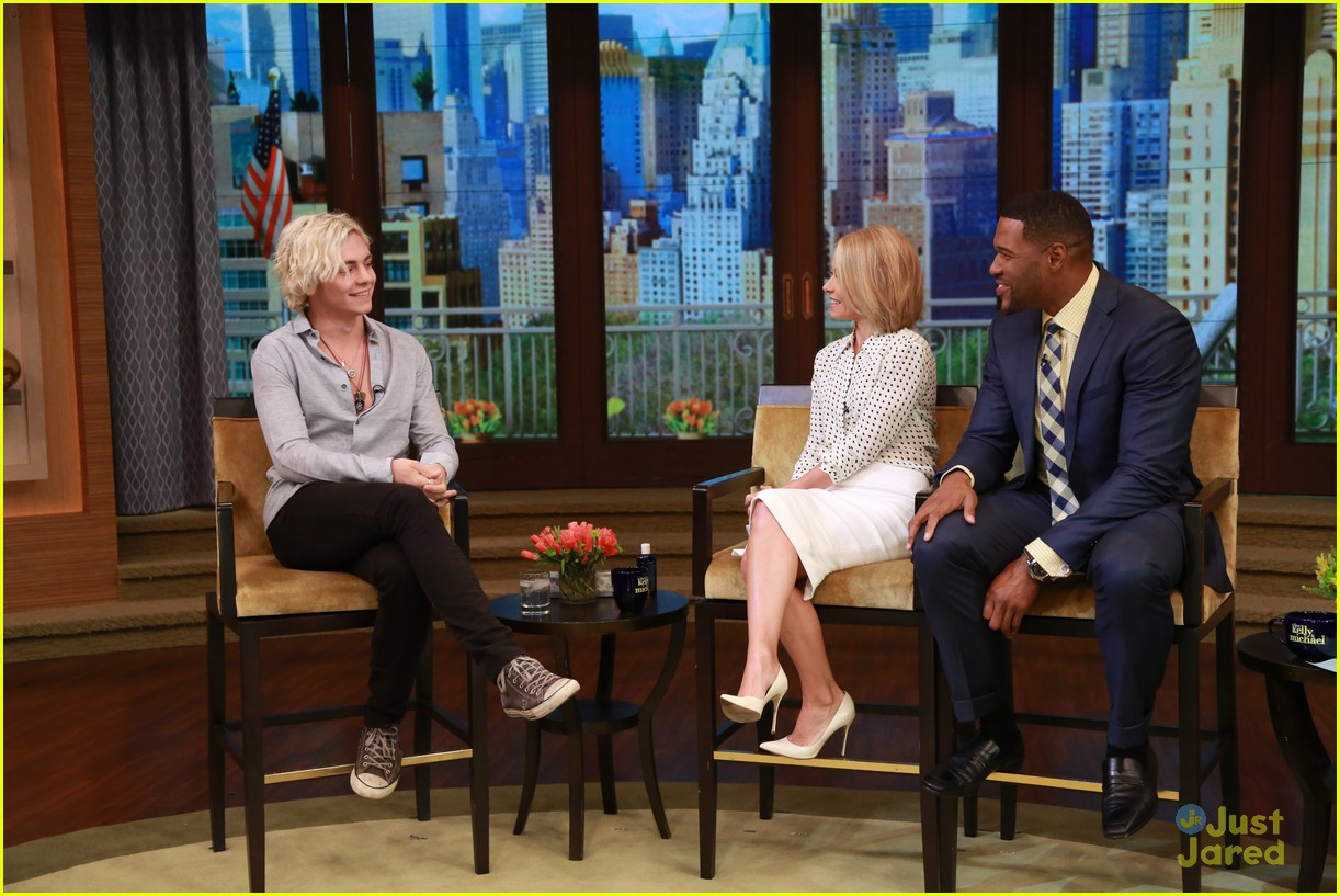 ross lynch live kelly michael 01