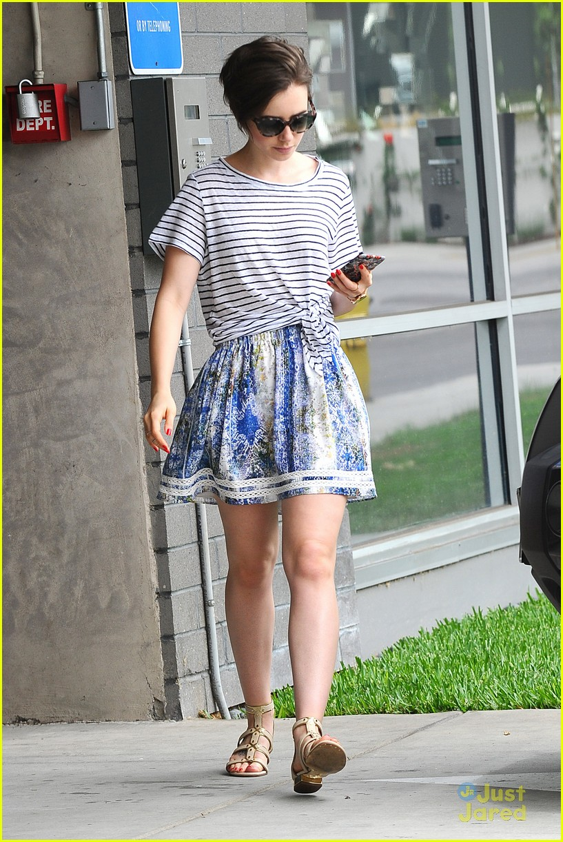 Lily Collins 'Loves He...