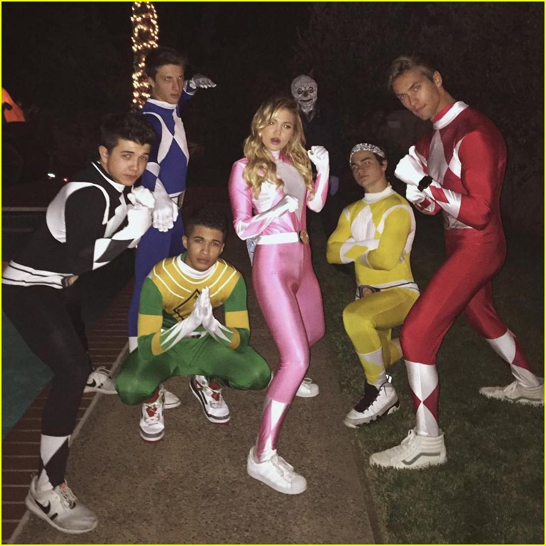 Olivia Holt, Jordan Fisher & Bradley Steven Perry Dress Up As ...