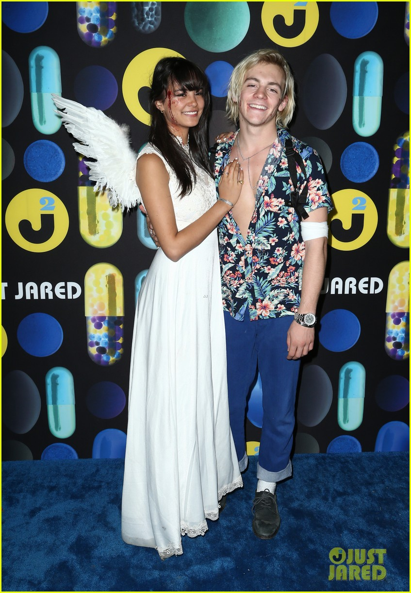 ross lynch courntey eaton just jared halloween party 13