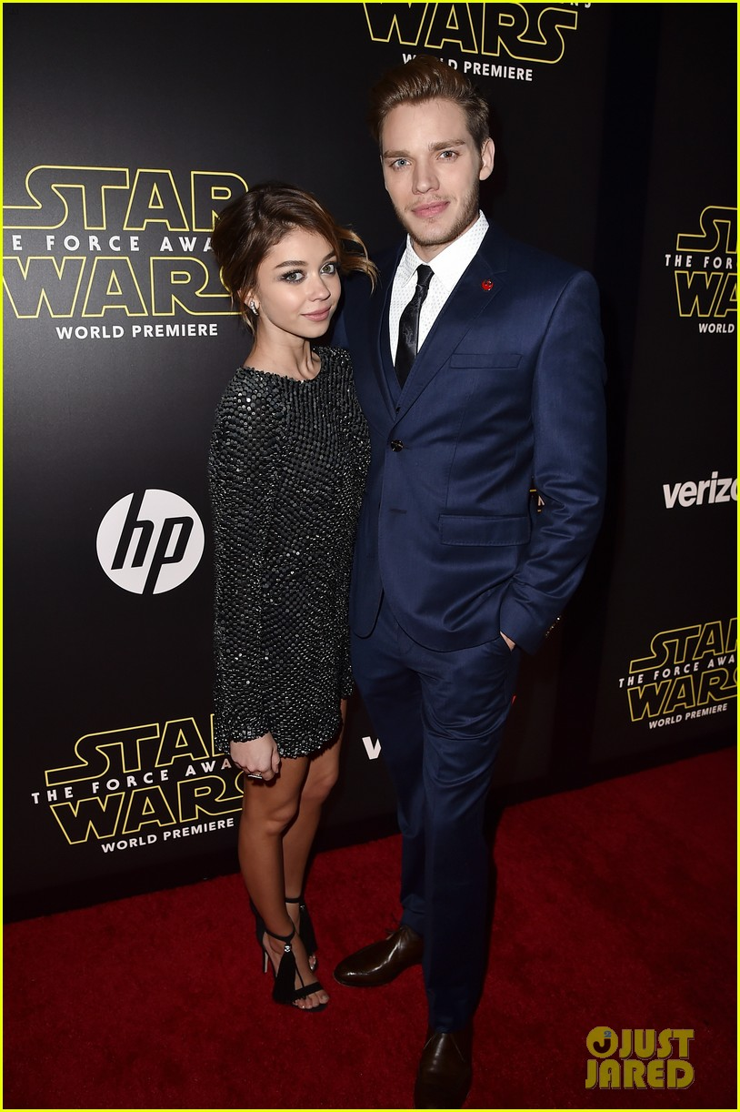 sarah hyland dominic sherwood shadowhunters star wars premiere 30