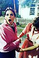 Benoist-grease supergirls melissa benoist jenna dewan visit grease live set in costume 02