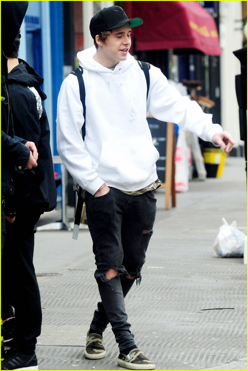 Brooklyn Beckham Dad David Have A Father Son Weekend Photo 926014 Photo Gallery Just