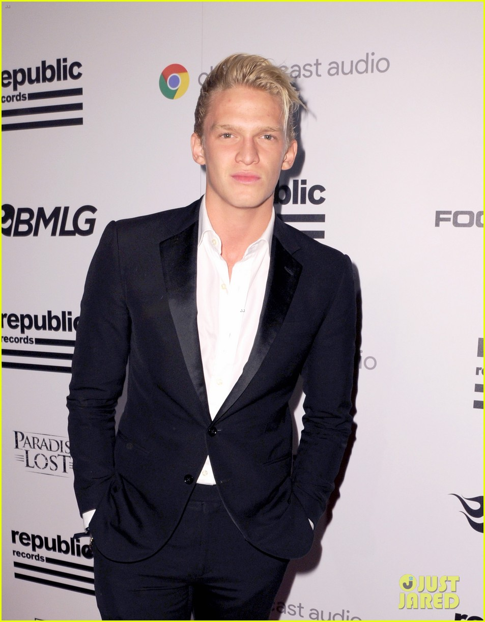 cody alli simpson 2016 grammys party 20