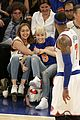 Miley-game miley cyrus knicks game brandi courtside 01