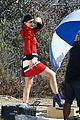 Jenner-visit2 kylie jenner gets a visit on set from caitlyn jenner 14